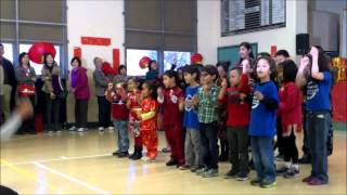 Pomona Valley Chinese School 普慕纳中文学校 Chinese New Year  Celebration 2014