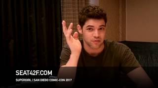 Jeremy Jordan SUPERGIRL Interview Comic Con HD