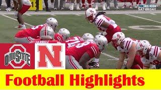 Nebraska vs Ohio State Football Game Highlights 10 24 2020
