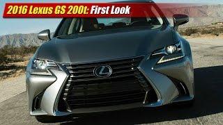 Lexus GS 200t 2016 Videos