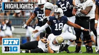 Highlights: Highest-Scoring Game for PSU Since 1991 | Idaho at Penn State | August 31, 2019