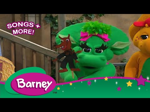 Barney Rig A Jig Jig  SONGS for Kids