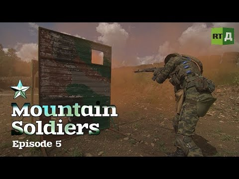Mountain Soldiers (E5) Gruelling exercises: a rock climb vs a river rope traverse