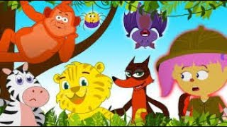 ไปเข้าป่าดูสัตว์ป่าต่างๆกันดีกว่า! | ไปเข้าป่ากัน | เพลงเสริมสร้างการเรียนรู้ กับ เมือง Teehee