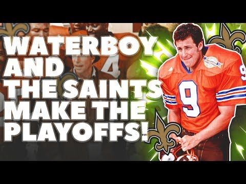 THE WATERBOY & THE NEW ORLEANS SAINTS MAKE THE PLAYOFFS! Bobby Boucher's NFL Journey