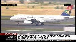 Government working with trade unions to develop new business model for SAA