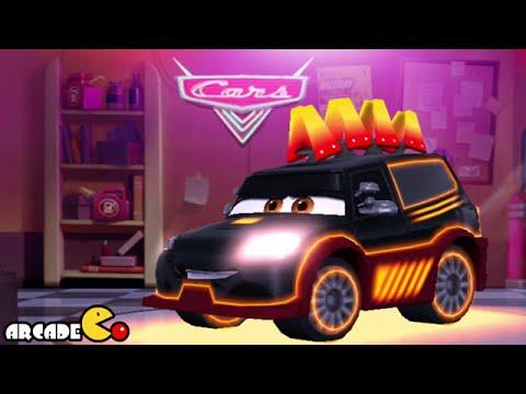 Disney Pixar Cars Fast as Lightning McQueen: Unlock Neon ...