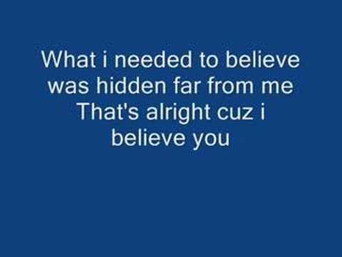 Celldweller- I believe You