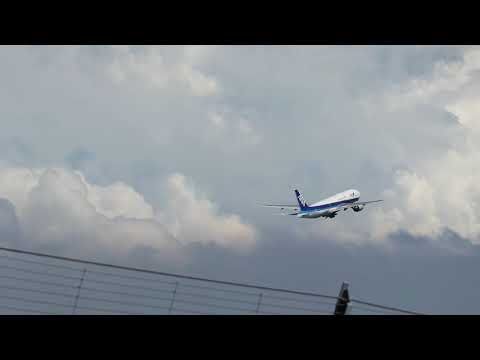 羽田空港 BOEING777 離陸 DEPARTURE AVIATION AIRPLANE HANEDA TOKYO JAPAN