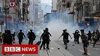Hong Kong US passes sanctions as nations condemn new law - BBC News