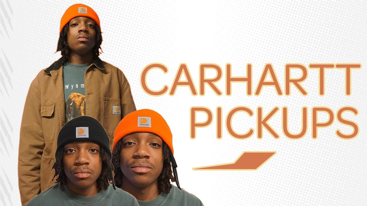 64e33a5ee36be Carhartt WIP OG Chore Coat and Acrylic Hats Review!!!  Jalen Grayson ...
