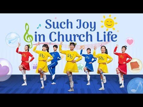 "Kids Dance | Worship Song ""Such Joy In Church Life"" | Hallelujah! Praise And Thank God"