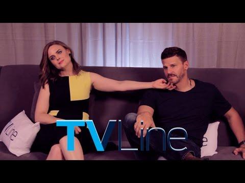 Bones Stars Emily Deschanel & David Boreanaz at Comic-Con 2014 - TVLine