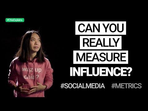 Can you really measure influence? #SocialMedia #Marketing #Metrics | #ChiaExplains