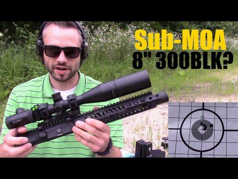 "Sub-MOA 8"" 300BLK?  KAK Mr Blond Accuracy Test #2 And Chrono"