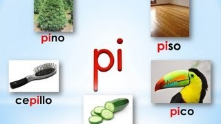 Mi Jardin Infantil: Syllables with P thumbnail