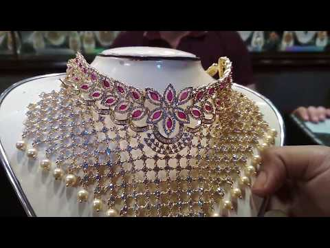 Latest Diamond cut Jewelry  set Collection  With Price