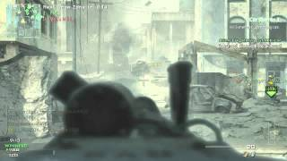 MW3 MG Master Challenge 5 Kill Streak Mounted Machine Gun