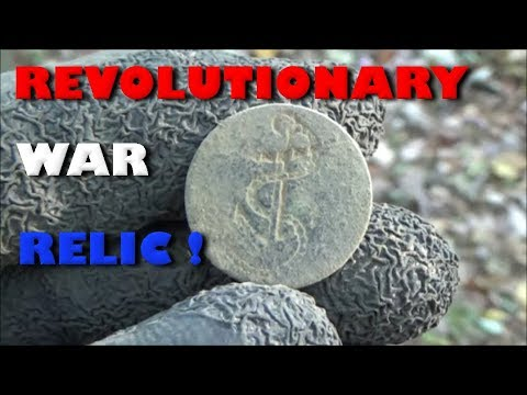 METAL DETECTING REVOLUTIONARY WAR RELICS 2017 AMAZING FIND!