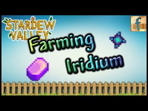 How to Get Lots of Iridium Ore in Stardew Valley | Tutorial