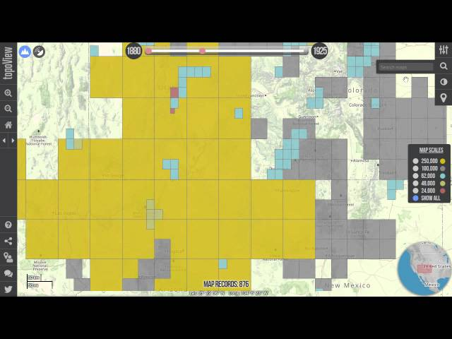 USGS Historical Topo Maps History Tech - Historical topo maps