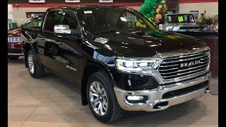 The All-New 2019 Ram 1500 Laramie Longhorn Edition Quick Walk Around