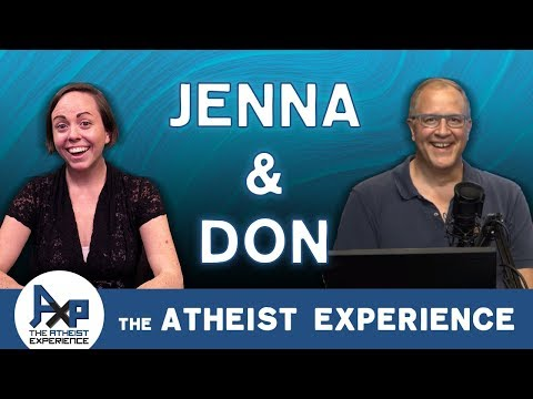 Atheist Experience 23.50 With Don Baker & Jenna Belk