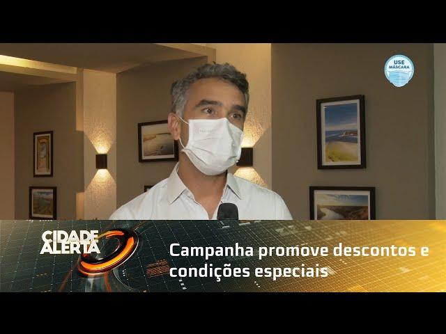 Campanha promove descontos e condições especiais em hotéis