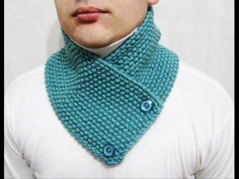 Knitting Easy Pattern Scarf Neckwarmer Do Yourself Www Lanadearg