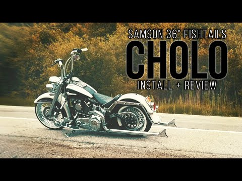 CHOLO DELUXE 36'' Samson Cholos Install