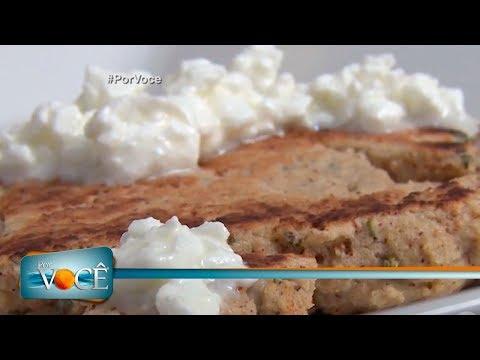 Por Você - Receita Saudável: pãozinho low carb 10/03/18