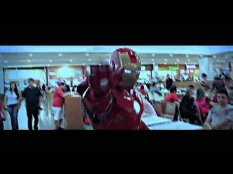 homem de ferro Kassio Goiânia flamboyant shopping