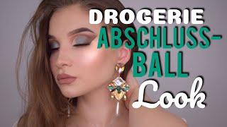 DROGERIE/GÜNSTIGER ABSCHLUSSBALL LOOK l Abiball Prom 2018 l Merve Tkd