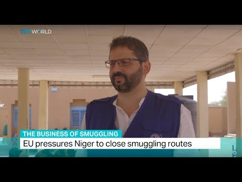 The Business Of Smuggling: Interview with Giuseppe Loprete from IOM Niger