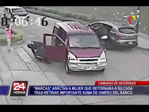 Surco: asaltan a mujer tras retirar fuerte suma de dinero del banco