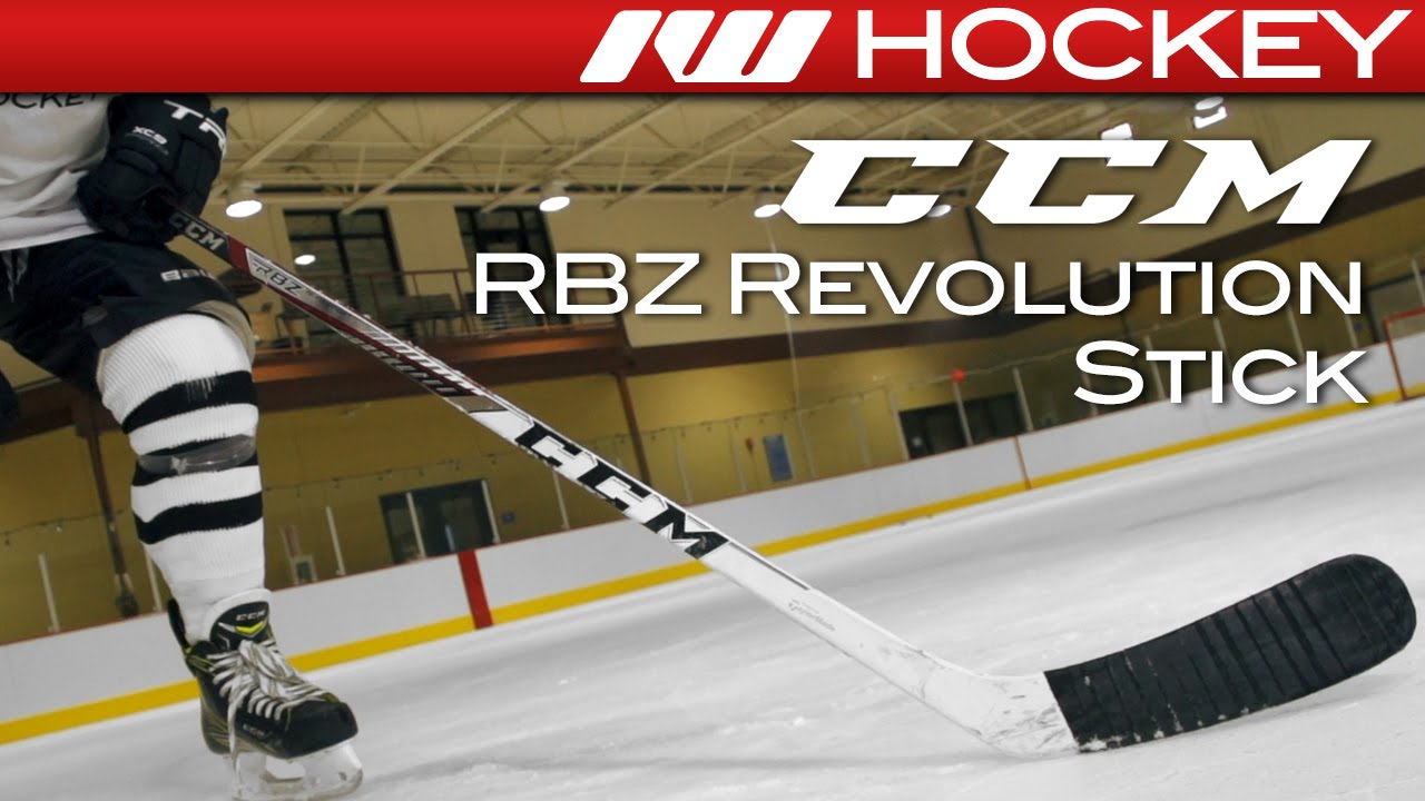 a7daf959a99 CCM RBZ Revolution Stick On-Ice Review - YouTube