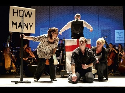 Greek trailer (Music Theatre Wales)