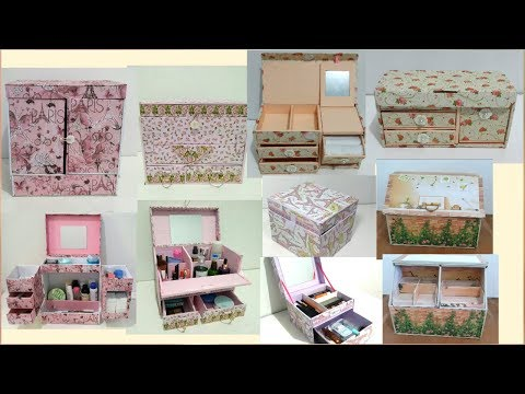5 DIY Room Organization Ideas | 5 DIY Box Penyimpanan