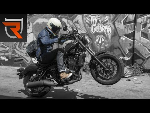 2017 Honda Rebel 500 Second Ride Review Video | Riders Domain