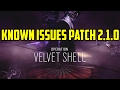 Rainbow Six Siege Velvet Shell Bugs & Known Issues Patch 2.1.0