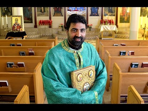 Work Clothes: Father Seraphim Majmudar, Greek Orthodox priest