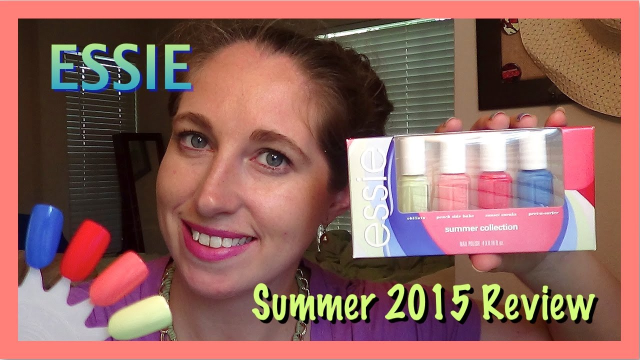 Essie Summer 2015 Nail Polish Collection Review - YouTube
