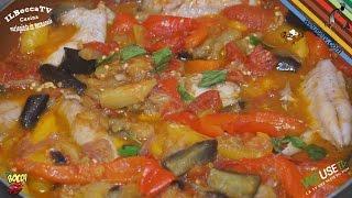 324 - Sugarello caponato...me ne sono innamorato! (secondo piatto a base di pesce e verdure gustoso)