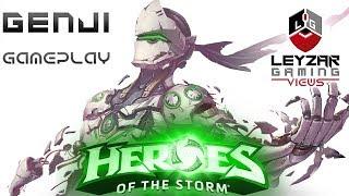 Heroes of the Storm Gameplay   Genji Meta Build HotS Genji Gameplay Quick Match