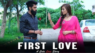 First Love | A Cute Love Story | Desi People | Dheeraj Dixit