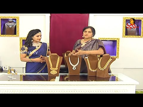 Diamond Necklace and Haram Sets With Price | Festival Special Collections | Navya - Bangaru Bogi