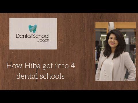 How Hiba got into dental School: Dental School Coach Success Story