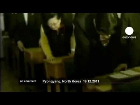 North Koreans' reaction to Kim Jongil's death  no comment