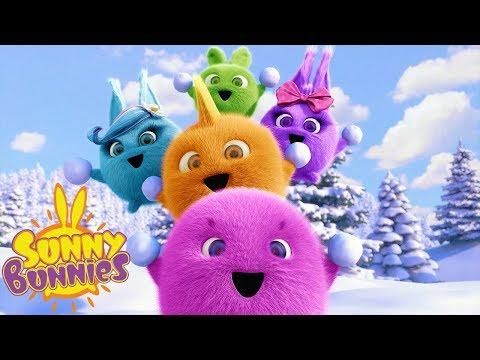 Cartoons For Children | SUNNY BUNNIES - SNOWBALL FIGHT | Funny Cartoons For Children
