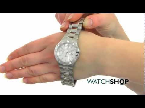 Ladies' Guess Glisten Watch (W11610L1)